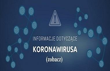 Informacje dotyczące koronawirusa