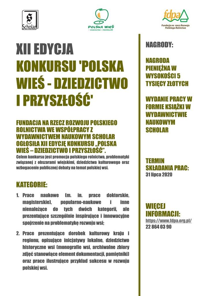 Plakat Polska Wieś FDPA.jpeg