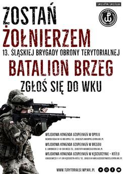 Plakat Zostań Żołnierzem