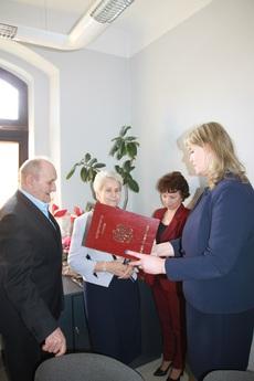 Galeria 50- lecie pożycia małżeńskiego